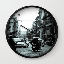 Naples, Spanish Quarter 1 Wall Clock