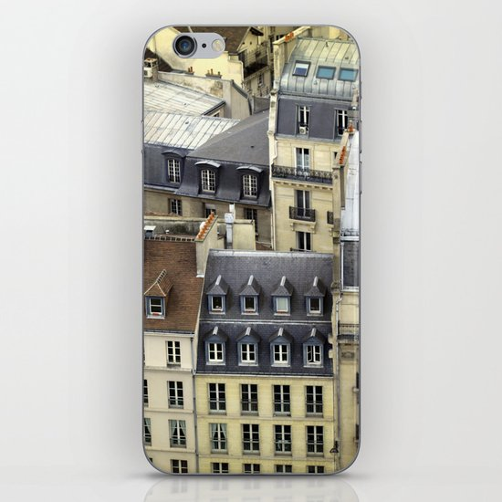 Paris Rooftop #2 iPhone & iPod Skin