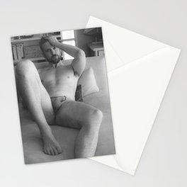 Nude Male Soft Light Stationery Cards