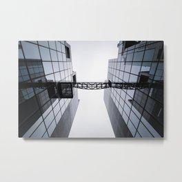 Architectural Symmetry Metal Print