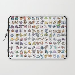 Pokémans! 151 Lazy-Drawn Pocket Monsters ( Laptop Sleeve