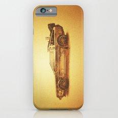 Lost in the Wild Wild West! (Golden Delorean Doubleexposure Art) Slim Case iPhone 6s