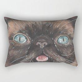 Der the Cat - artist Ellie Hoult Rectangular Pillow