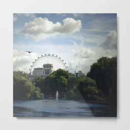 st. james park in London Metal Print