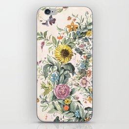 Circle of life- floral iPhone Skin