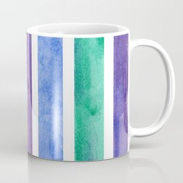 Peacock Stripes Coffee Mug