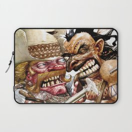 cowboy and native american Laptop Sleeve