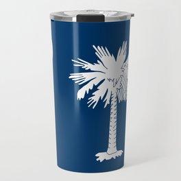State flag of South Carolina - Authentic version Travel Mug