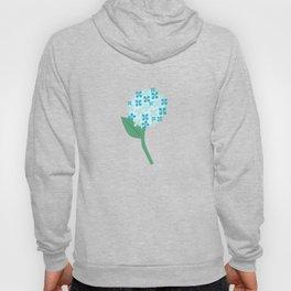 Blue Hydrangeas Hoody
