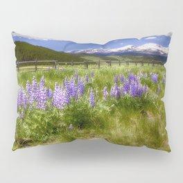 Mountain Lupines Pillow Sham