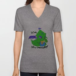 IM HUNGRY! Unisex V-Neck