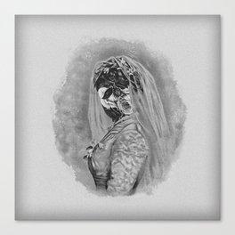 Bride I Canvas Print