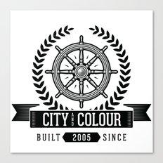 City and Colour Canvas Print