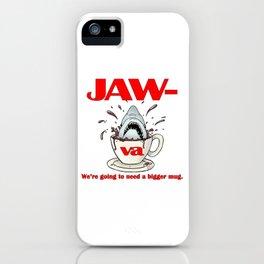 Jaw-va iPhone Case