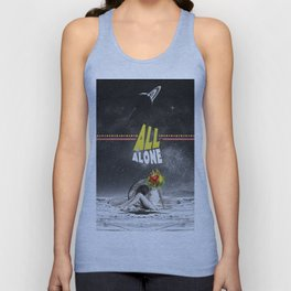 All Alone Unisex Tank Top