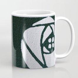 Charles Mackintosh inspired Art Nouveau teal Design,Charles Mackintosh,inspired ,Art Nouveau, teal Design,rose,flower,vintage,Belle epoque,pattern,elegant,chic Coffee Mug