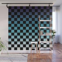 Chessboard Gradient III Wall Mural