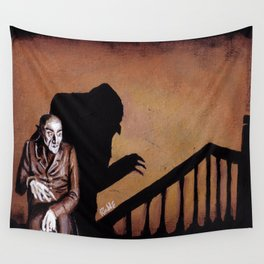 Nosferatu - A Symphony of HORROR! Wall Tapestry