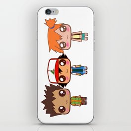 Ash,Brock and Misty iPhone Skin