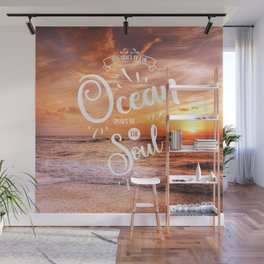 The Voice of the Ocean Wall Mural