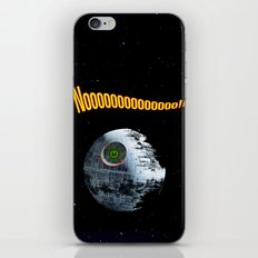 Red ring of Death Star iPhone & iPod Skin