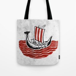 Lone Viking Tote Bag