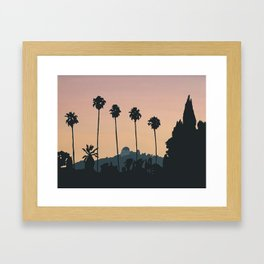 Franklin Avenue Framed Art Print