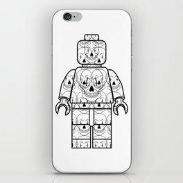 Skull-Brick iPhone Skin