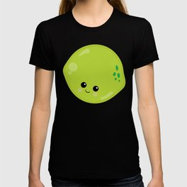 Kawaii Fruit Kawaii Lime Cute Cartoon Fruit T-shirt