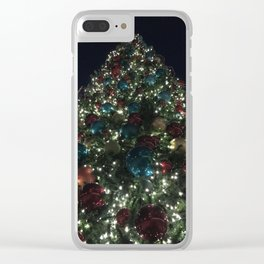 O Christmas Tree Clear iPhone Case