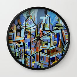 Live city Wall Clock