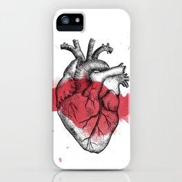 Anatomical heart - Art is Heart  iPhone Case