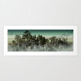 Woodscape Art Print