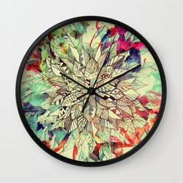 Enrich Your Life (Rainbow) Wall Clock