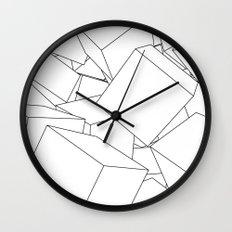 Cuberic Wall Clock