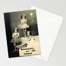 """America's got talent ~ 1944 """"The Play""""  Stationery Cards"""