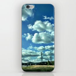 Another beautiful day in southern California. iPhone Skin