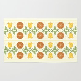 Bells and Blooms Rug