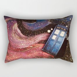 TARDIS in space Rectangular Pillow