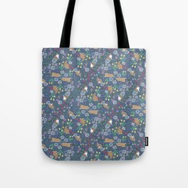 with early spring flowers Tote Bag