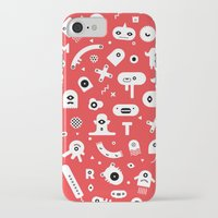 monsters iPhone & iPod Cases featuring Monsters by Vickn