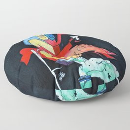 Smother the Patriarchy Floor Pillow
