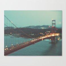 San Francisco Golden Gate Bridge, Sweet Light Canvas Print