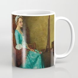 THE SILHOUETTE by NORMAN ROCKWELL Coffee Mug