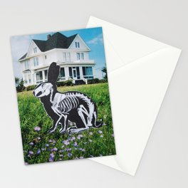 Bunny Bones Stationery Cards