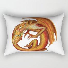 Dragons/Fire Dragon Rectangular Pillow