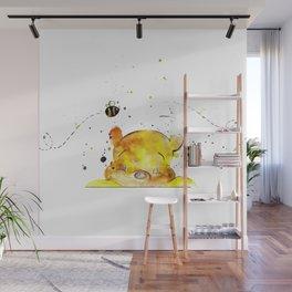 Yellow Bear Wall Mural