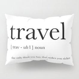 Travel Definition Pillow Sham