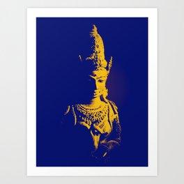 Indian Pop Art Art Print