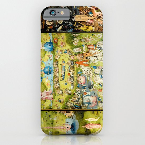 The Garden of Earthly Delights by Bosch iPhone Case by ...Bosch Garden Of Earthly Delights Outside